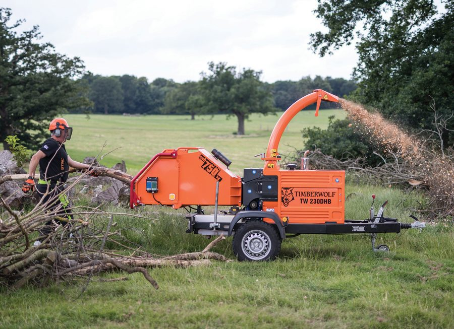 Wood Chipper for Hire | Timberwolf Wood Chipper 230 | TFM Hire